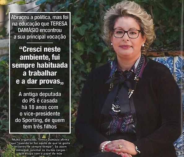 Entrevista da Senhora Administradora na Revista Lux