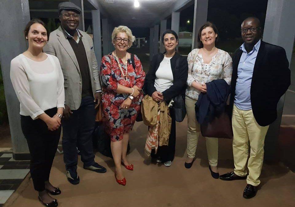 Comitiva do Grupo ENSINUS na Guiné-Bissau