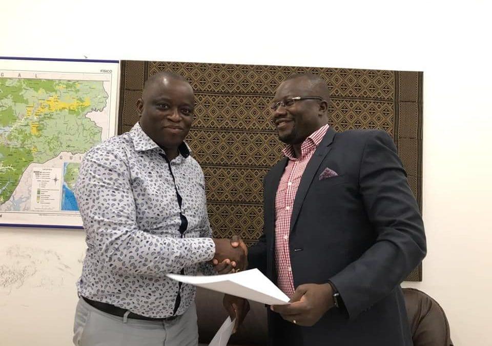 Assinatura do Acordo de Formação dos Observadores de Pesca