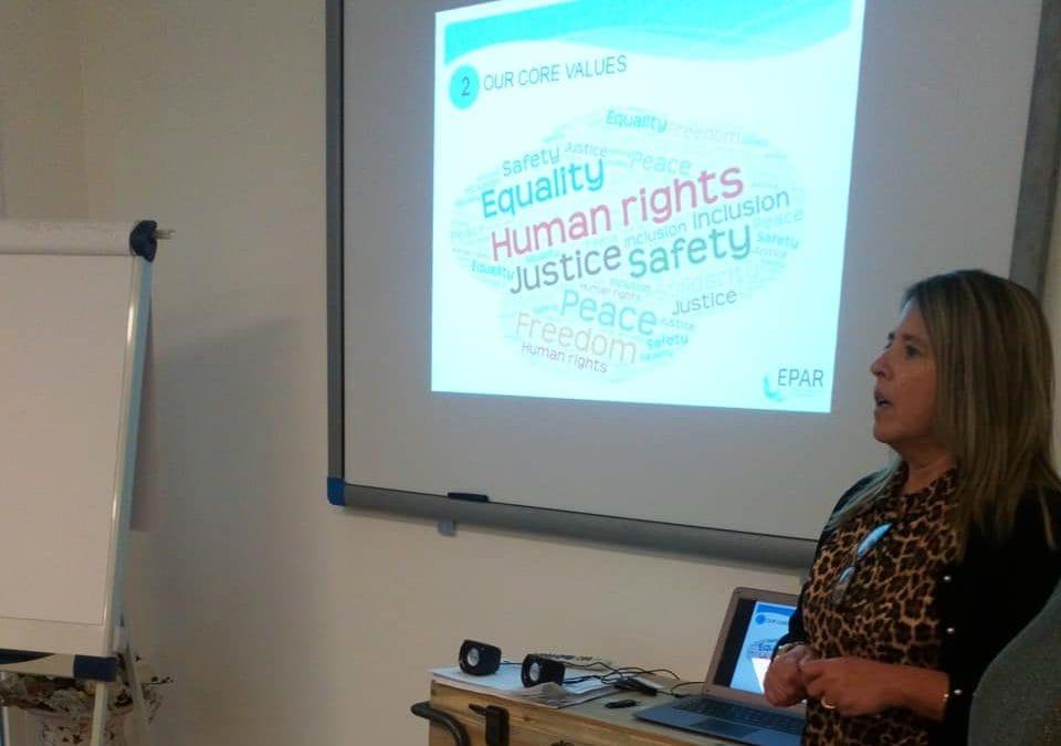 EPAR participa no Projeto Safe School, em Roma