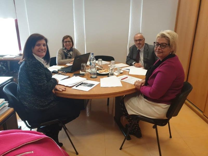 Reunião do Conselho de Gerência da Escola de Comércio de Lisboa
