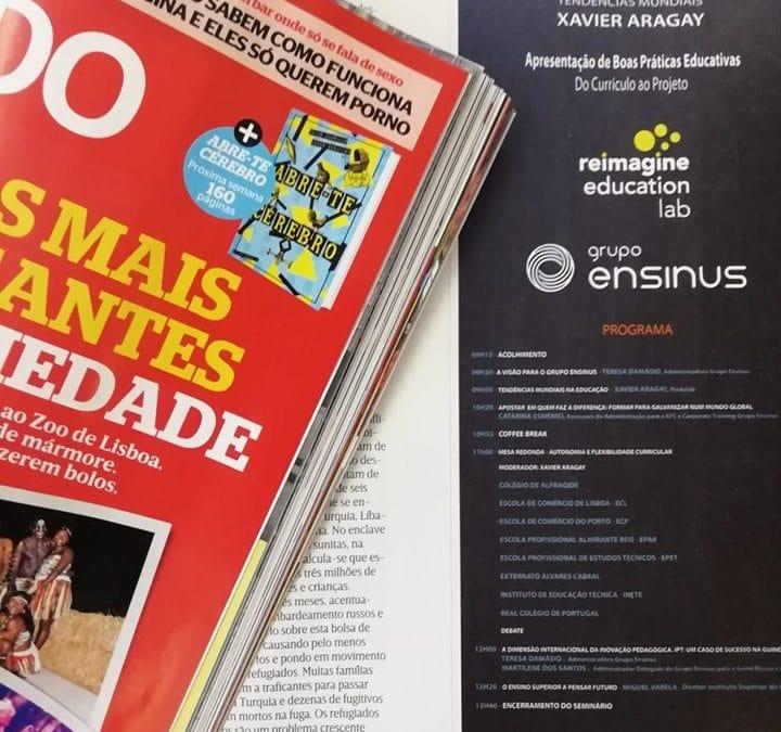 Seminário do Grupo ENSINUS na Revista Sábado