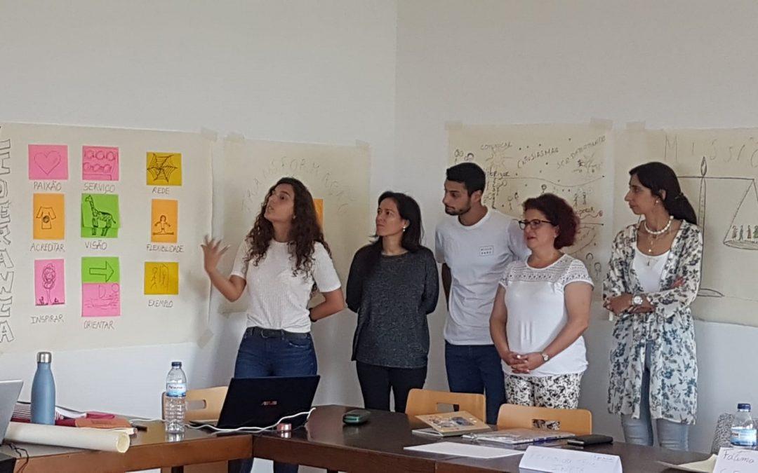 Formação de líderes com a Equipa da Reimagine Education Lab