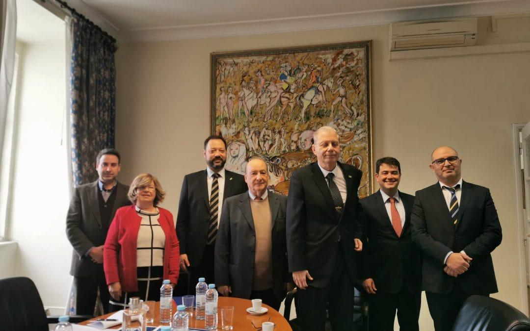 Assinatura do Convénio entre o ISG – Instituto Superior de Gestão e o INEP
