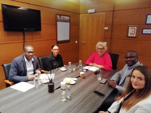 Assinatura do Protocolo de Cooperação, entre o Grupo Ensinus e a Câmara Municipal do Sal, Cabo Verde