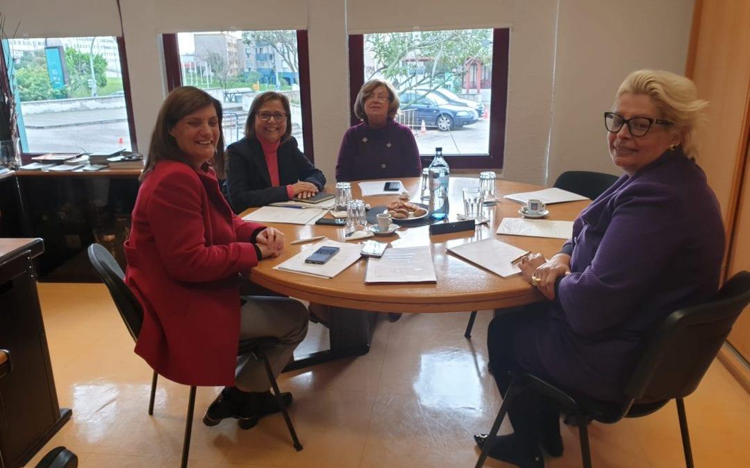 Reunião do Conselho de Gerência da Aula de Comércio