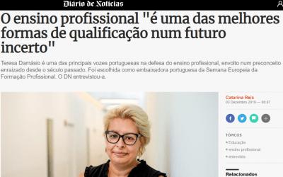 """O ensino profissional """"é uma das melhores formas de qualificação num futuro incerto"""""""
