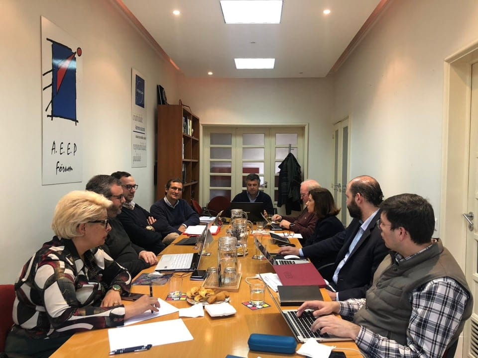 Reunião da Direção da AEEP