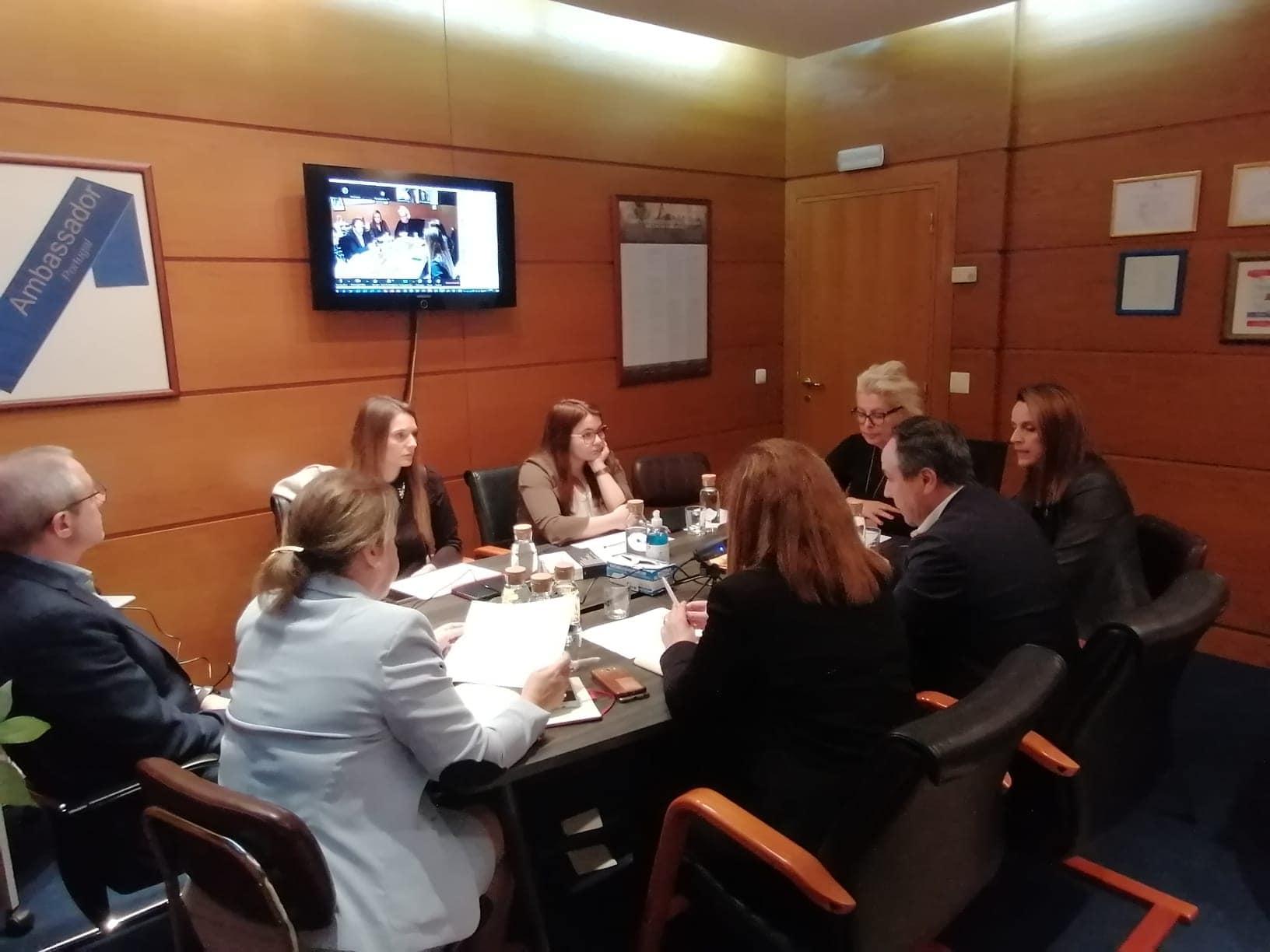 Reunião: Medidas Extraordinárias de Contenção e Mitigação do COVID-19
