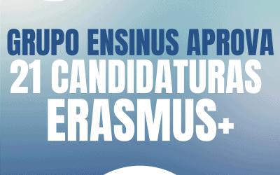 Grupo Ensinus aprova 21 Candidaturas Erasmus+