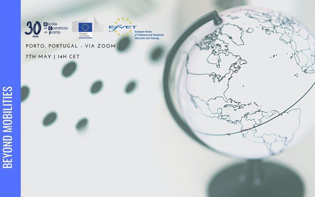 "Conferência Online ECP – ""VET Internationalisation in 2021: beyond mobilities""."