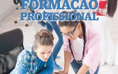 """Escolas INETE, EPET, ECL e EPAR em destaque no suplemento """"Formação Profissional"""""""