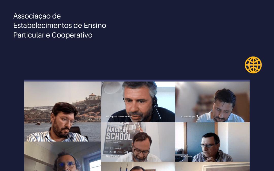 Reunião da Direção da AEEP – Associação de Estabelecimentos de Ensino Particular e Cooperativo