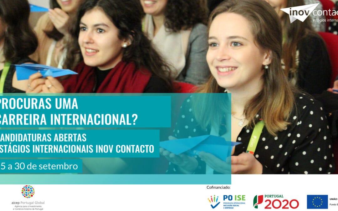 Candidaturas abertas para Estágios Internacionais INOV Contacto